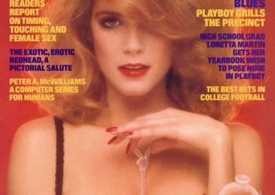 Charlotte Kemp Muhl, December Playmate 1982